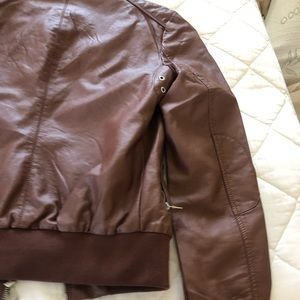 Brown Fashion Nova Jacket